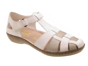 Buty Rieker 45869-80 white combination